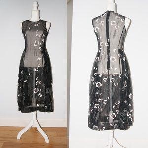BCBGMaxAzria Collection silk lace dress sz 4